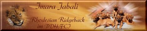 Homepage des Zwingers Imara Jabali