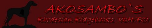 AKOSAMBO`S  Rhodesian Ridgebacks  VDH/FCI
